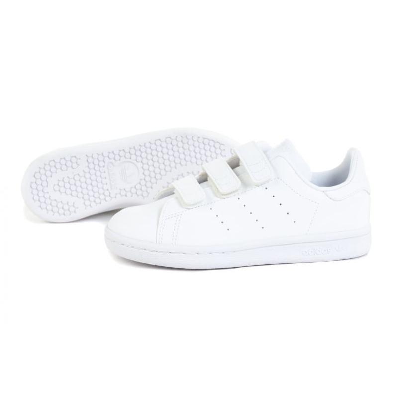 Sapatos Adidas Stan Smith Jr FX7535 branco laranja