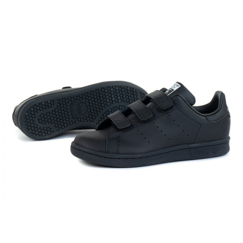 Sapatos adidas Stan Smith Cf C Jr FY0969 preto laranja