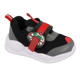 Calçados infantis Befado 516P096 preto vermelho