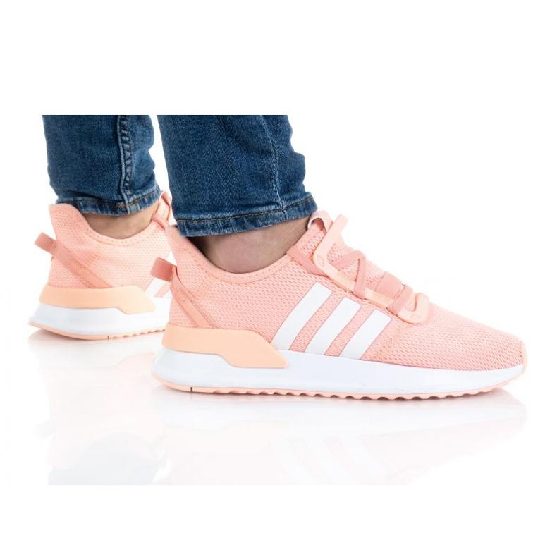 Sapatos Adidas U_Path Run Jr FX5068 laranja rosa