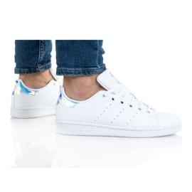 Sapatos Adidas Stan Smith Jr FX7521 branco laranja