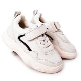 Apawwa Calçados infantis esportivos tênis bege Runner