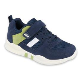 Calçados infantis Befado 516X074 azul marinho