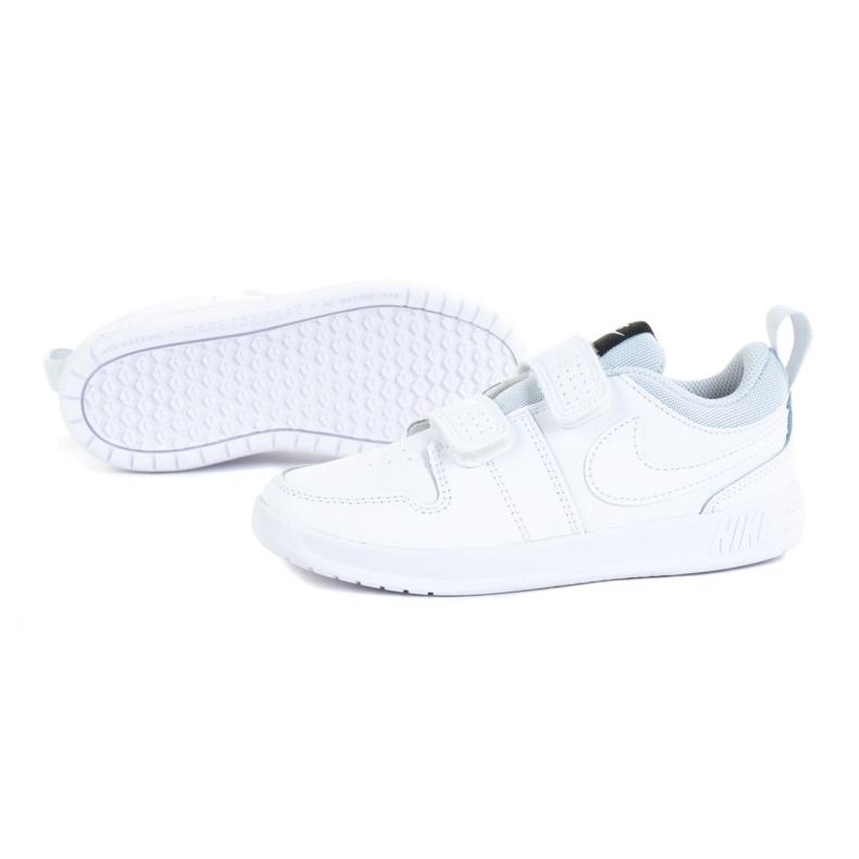 Sapato Nike Pico 5 (TDV) Jr AR4162-100 branco azul