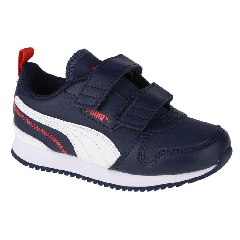 Puma R78 Sl V Bebês 374430 03 preto azul marinho