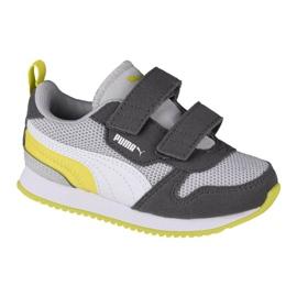Sapatos Puma R78 V Infants 373618 16 vermelho