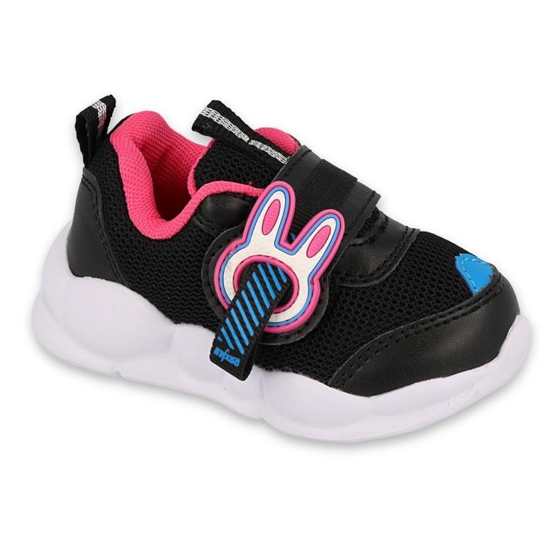 Calçados infantis Befado 516P092 preto rosa