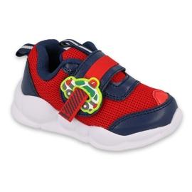 Calçados infantis Befado 516P095 vermelho azul marinho
