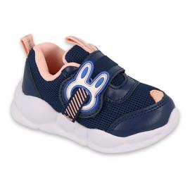 Calçados infantis Befado 516P090 azul marinho rosa