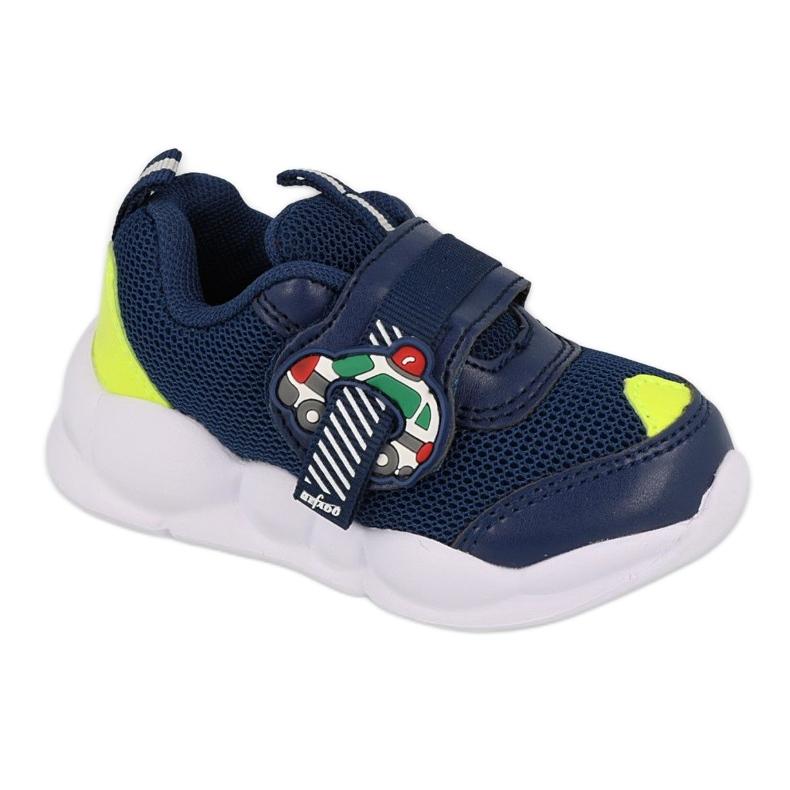 Calçados infantis Befado 516P094 azul marinho verde