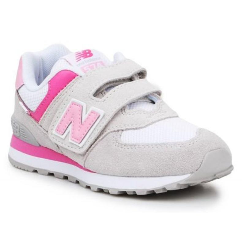 New Balance Jr PV574SA2 rosa multicolorido