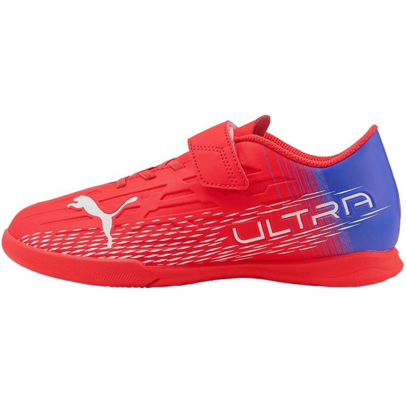 Chuteiras Puma Ultra 4.3 It V Jr 106592 01 vermelho vermelho