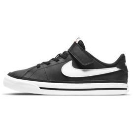 Nike Court Legacy Shoe Jr DA5381 002 preto azul marinho