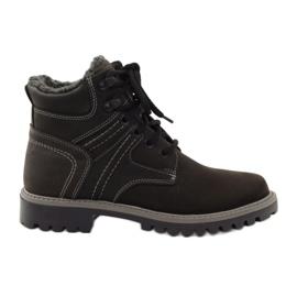 Preto Sapatos inverno trapos Naszbut 831