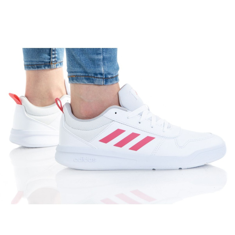 Sapatos Adidas Tensaur K S24034 branco