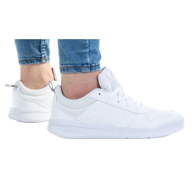 Sapatos Adidas Tensaur K S24039 branco azul marinho