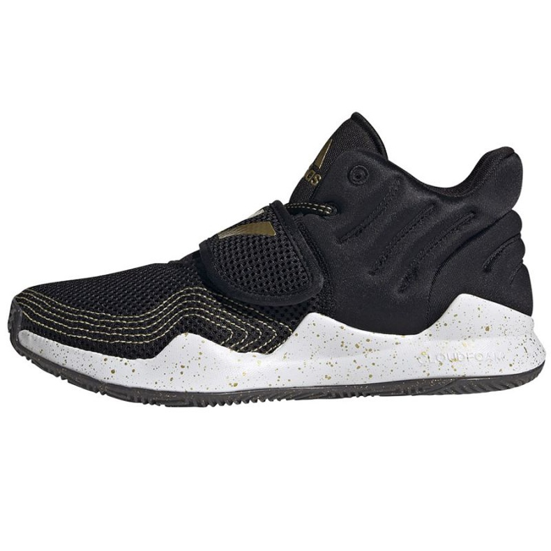 Sapatos Adidas Deep Threat Primeblue Jr S29014 preto azul