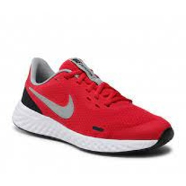 Sapato Nike Revolution 5 (GS) Jr BQ5671-603 preto vermelho