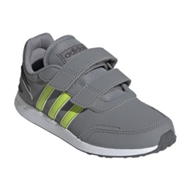 Sapatos adidas Vs Switch 3 C Jr H01739 cinza verde