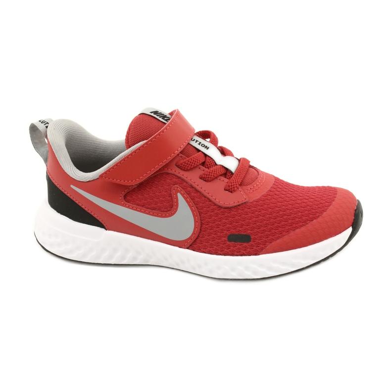 Sapato Nike Revolution 5 (PSV) Jr BQ5672-603 preto vermelho