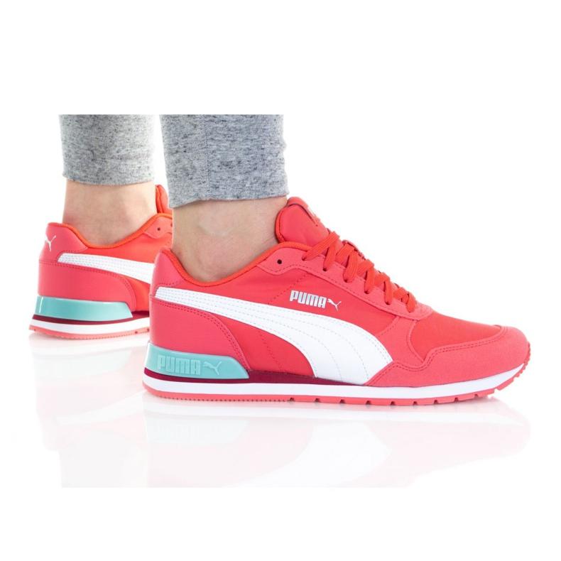 Sapatos Puma St Runner V2 Nl Jr 365293 36 branco rosa