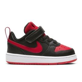 Sapatos Nike Court Brough Low 2 (TDV) Jr BQ5453-007 preto