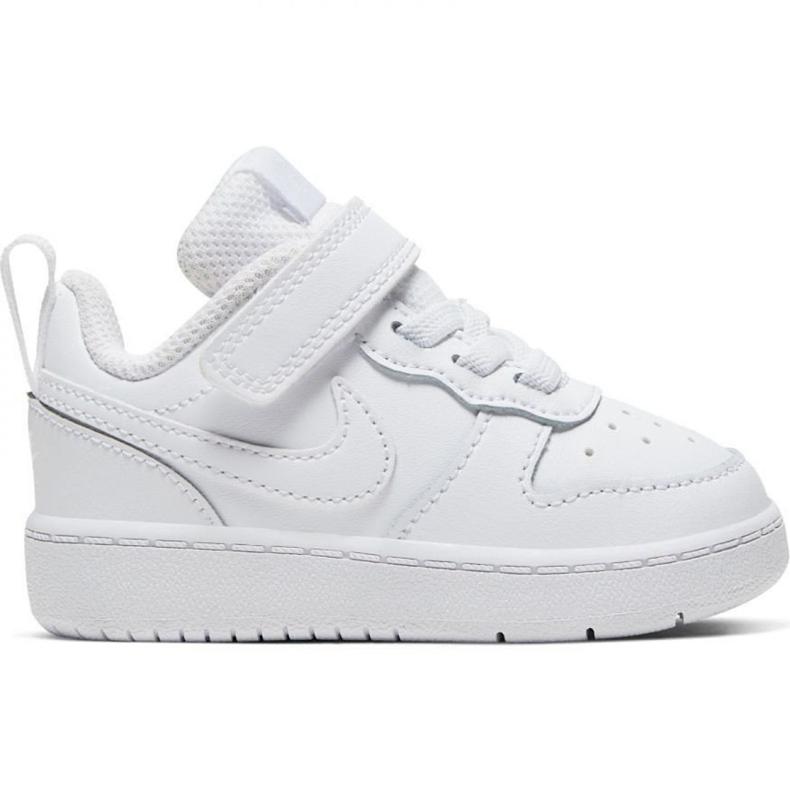 Nike Court Borough Low 2 (TDV) Jr BQ5453-100 branco azul