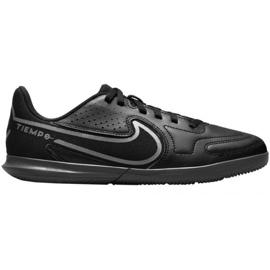 Chuteiras Nike Tiempo Legend 9 Club Jr Ic DA1332 004 preto preto