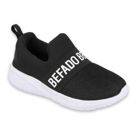 Calçados infantis Befado 516Y083 branco preto