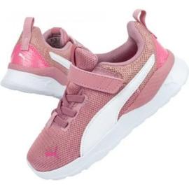 Puma Anzarun Lite Metallic Ac Jr 373177 01 azul rosa