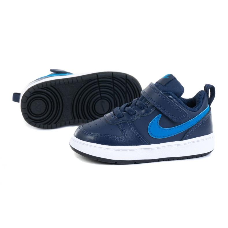 Sapatos Nike Court Borough Low 2 (TDV) M BQ5453-403 tolet azul marinho