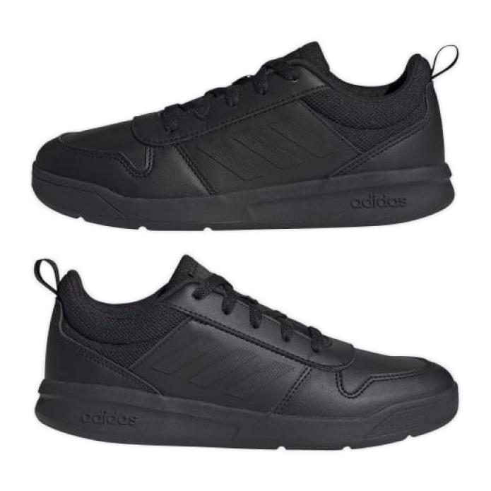 Sapatos Adidas Tensaur K S24032 preto azul marinho