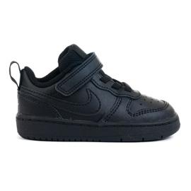 Sapatos Nike Court Borough Low 2 (TDV) Jr BQ5453-001 preto