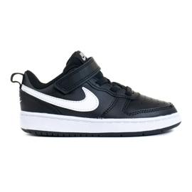 Sapatos NIke Court Borough Low 2 (TDV) Jr BQ5453-002 preto