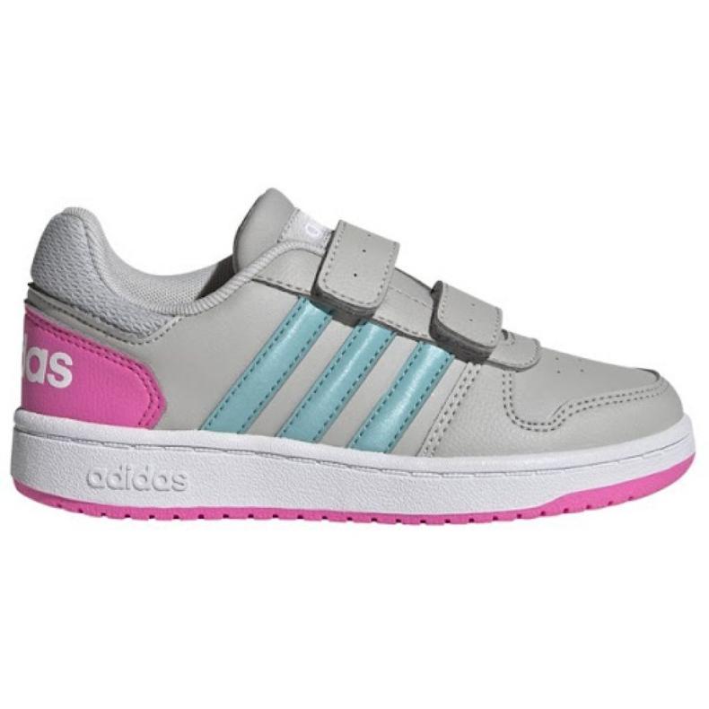 Sapatos adidas Hoops 2.0 Cmf C Jr H01550 preto
