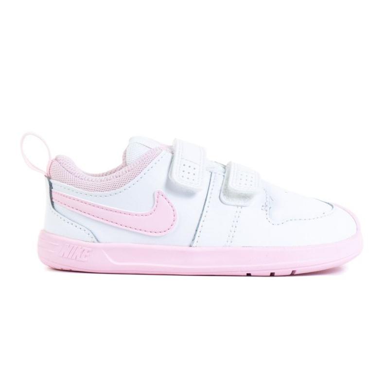 Sapato Nike Pico 5 (TDV) Jr AR4162-105 branco rosa
