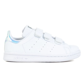 Sapatos Adidas Stan Smith Cf C Jr FX7539 branco