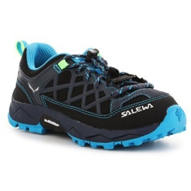 Salomon Sapatos de trekking Salewa Jr Wildfire 64007-3847 preto azul marinho