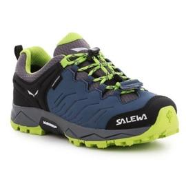 Sapatos de trekking Salewa Jr Mtn Trainer 64008-0361 azul marinho