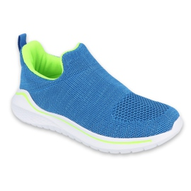 Calçados infantis Befado 516Y079 azul verde