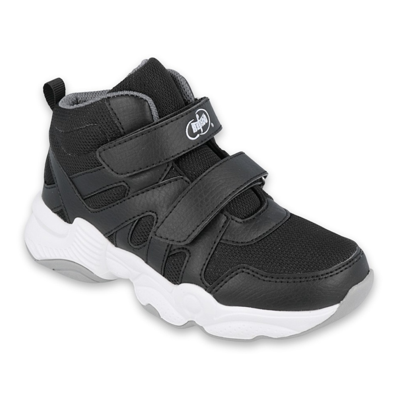Sapatos infantis Befado 516X052 branco preto