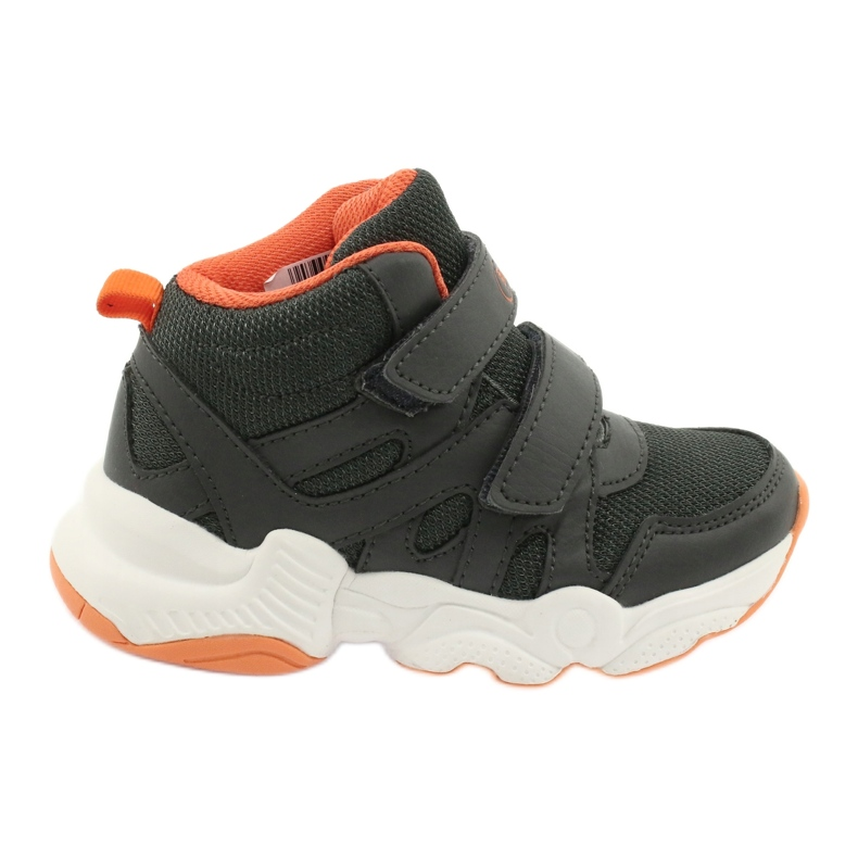 Sapatos infantis Befado 516X050 laranja cinza
