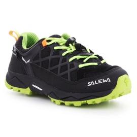 Sapatos de trekking Salewa Wildfire Wp Jr 64009-0986 preto