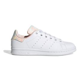Sapatos Adidas Stan Smith Jr GZ9915 branco azul marinho