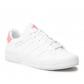 Sapatos adidas Court Tourino Jr H00765 branco azul marinho