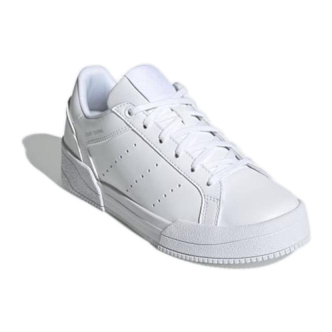Sapatos adidas Court Tourino Jr H00764 branco azul marinho