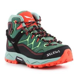 Sapatos de trekking Salewa Alp Trainer Mid Gtx Jr 64010-5960 verde