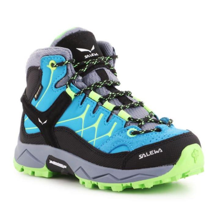 Sapatos de trekking Salewa Alp Trainer Mid Gtx Jr 64010-8375 azul