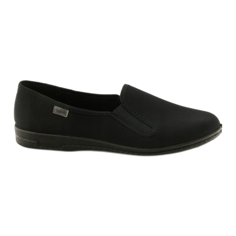 Sapatilhas pretas slip-on Befado 001M060 preto
