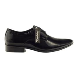 Sapatos para homens clássicos Kazkobut 2620 preto